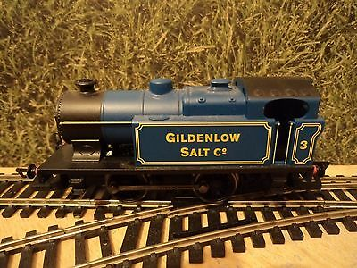 Hornby Oo Gauge,blue 0-4-0 Engine,in Mint,complete,working Condition,no Box.