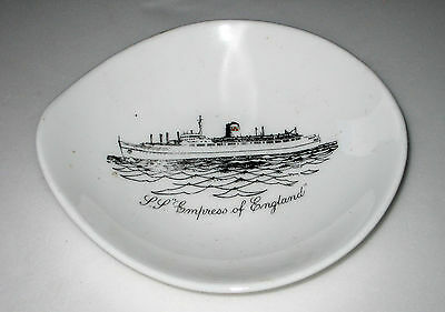 Vintage EMPRESS OF ENGLAND Dish Tray CANADIAN PACIFIC Shipping Liner