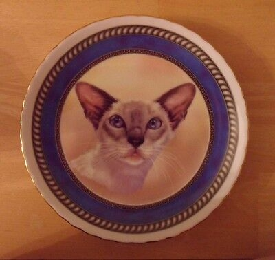 Siamese Cat Collectors Plate from Norfolk China