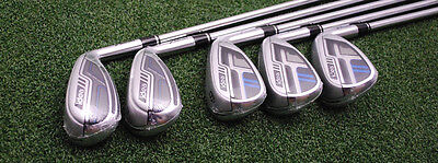 Adams Golf New Idea Hybrid/Iron Set 6-PW - Steel Stiff Flex - NEW