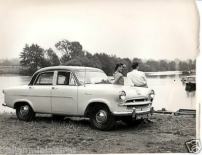 Standard Vanguard Large Original Press Photograph By The Lake RHP 555