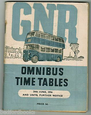 GNR(Ireland) Bus Timetable Booklet 1956