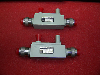 Lot of 2  Microwave Research C160-143 SMA Adapter NEW