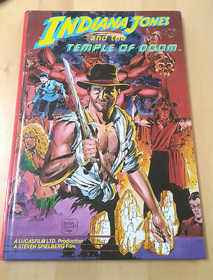 Indiana Jones & the Temple of Doom Graphic Novel Comic Annual Marvel Grandreams