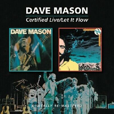 Certified Live/Let It Flow - 2 DISC SET - Dave Mason (2011, CD NEUF)