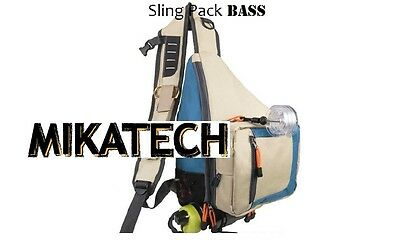 MIKATECH Sling Pack Bass Edition Angelrucksack Forelle Barsch Streetfishing