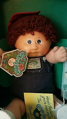 1985 Cabbage Patch Kids doll Jason Ramsay Brown Curly Hair