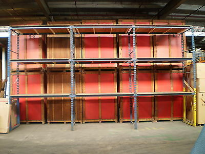 "Industrial Storage Warehouse Pallet Racking System 13' Tall 43"" Wide 92"" Across"