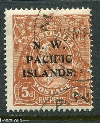 Australia N W Pacific Islands #49 SG#105  P over IS  sound used