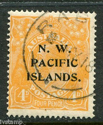 Australia N W Pacific Islands #16 SG#70  OVPT A  sound used