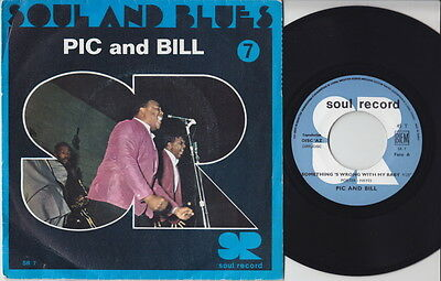 PIC and BILL * Talk About Love * 6T's Northern SOUL R&B MOD 45 * Listen!