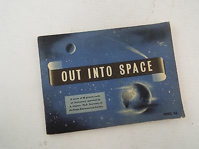 Rare Album BROOKE BOND PG TIPS - OUT INTO SPACE Complete With Cards - E19