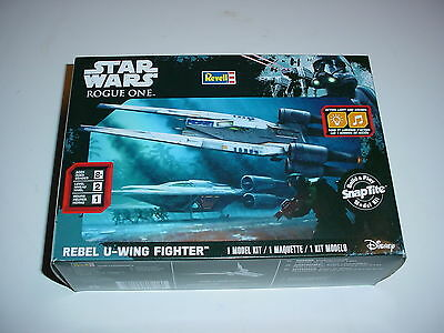 New Star Wars Rogue One Rebel U-Wing Fighter By Revell Plastic Model Kit Snap