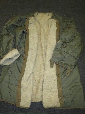 Orig.US Armee Field Parka Fishtail  M51 Liner  MOHAIR FRIEZE SMALL gebr