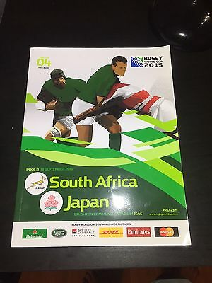 Rugby 2015 World Cup Programmes