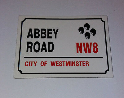 Abbey Road  Nw8   City Of Westminster    Fridge Magnet