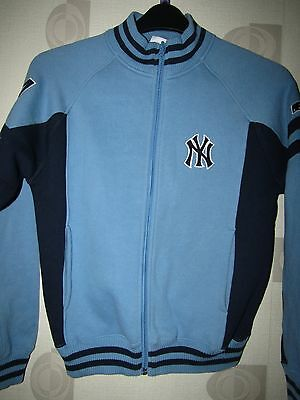 Major League new York Yankees mlb  zip up top size on tag age 9/10 years app 36""