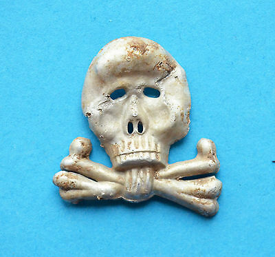 WW1 German Empire Cockade Big Skull from cap (Rare)