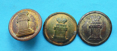 WW1 Russian Imperial judge uniform buttons