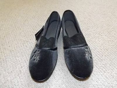 brand new elasticated Slippers Size UK 3 BRAND NEW +TAGS Slip On Gusset new