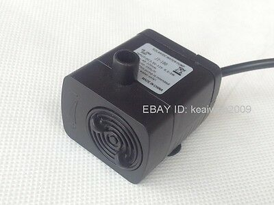 DC 3.5V-12V Submersible Brushless Water Pump for Solar Fountain Cpu Cooling 2.2M