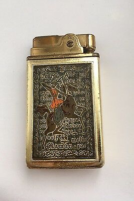 Elite Musical Lighter Rare Vintage Petrol Lighter