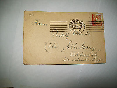 german letter from 1947
