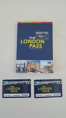 2 Adult LONDON PASS 6 DAYS Tickets Attractions Sightseeing RRP £278