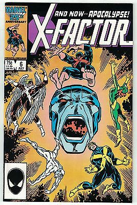 X-Factor #6 - 1st full appearance of Apocalypse NM+ 9.6