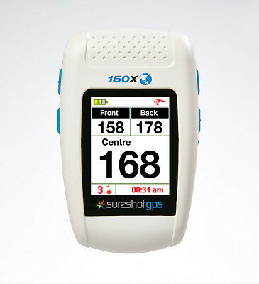 2017 SURESHOT GPS 150X Preloaded with Aus & NZ Courses & Warranty NO FEES