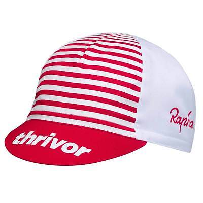 Rapha Classic Cycling Cap Hat Thrivor Red White One Size Fit All