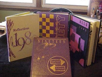 4 Indianola, Iowa Yearbooks 3 Jr. High 1989-91 & 1 High School Yearbook 1992