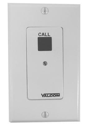 Valcom Call-In Switch with Volume Control, White (V-2991-W)