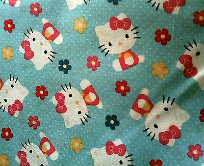 Hello Kitty On Blue Stethoscope Cover - NEW - Handmade - FREE S&H