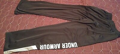 UNDER ARMOUR Boy's Youth Athletic Pants Sweatpants SIZE Medium YMD spelled-out