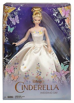 2014 Disney CINDERELLA WEDDING DAY Barbie Doll CGT55 - NEW & NRFB !!