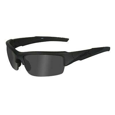 WILEY X WX Valor Changeable Sunglasses Black Ops Grey Lens Black Frame CHVAL01