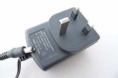 UK Plug Adapter AC 100-240V To DC 12V 1.25A Switching Power Supply NEW