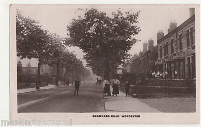Worcester, Bromyard Road Real Photo Postcard, B493