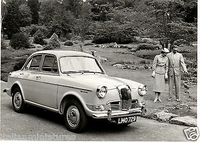 Riley 1.5 1500 One Point Five Nuffield 75154 Original Press Photograph 1957