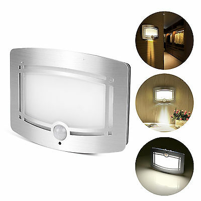 Motion LED Wall Sconce Wireless Night Light for Hallway Pathway Staircase Home