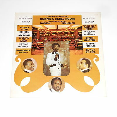 Private Bahamas Calypso / Island Soul LP - Ronnie Butler And The Ramblers