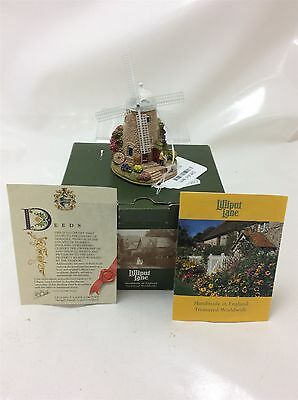 Lilliput Lane The Old Windmill Boxed with deeds L2547