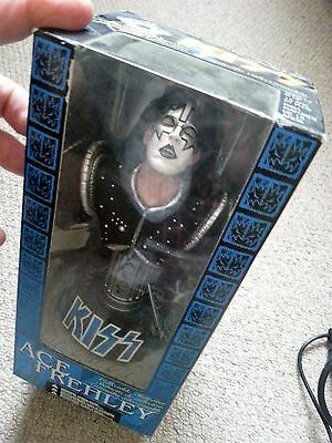 Rare Kiss Ace Frehley Statuette Figure New Unopened Out Of Print