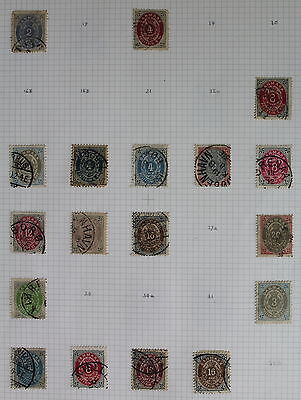 Denmark, Collection of Mint & Used Stamps, High CV, 21 Scans #e928