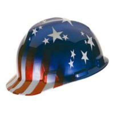 Hard Hat usA Patriotic Safety Works Respiratory Protection 10052945 641817004791