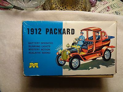 """""""mego"""" Battery Operated 1912 Packard Toy Car In Original Box"""