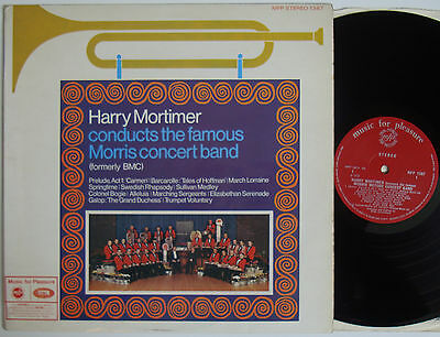 "Harry Mortimer Conducts The Famous Morris Concert Band (6677) 12"" LP 1970"