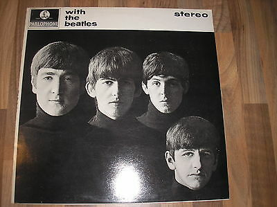 """The Beatles Vinyl Record """"with The Beatles"""" N/mint Stereo L@@k"""