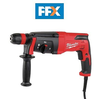 Milwaukee PH27X240 240v 26mm SDS+ 3 Mode Hammer Drill with Fixtec